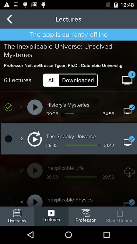The Great Courses 5.2.4 Screen 6