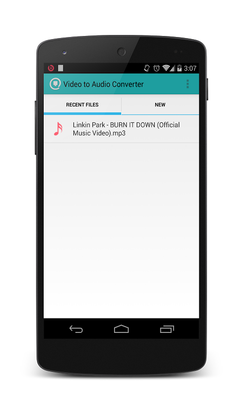 Video to mp3 converter (Free) 1.3.2 Screen 7