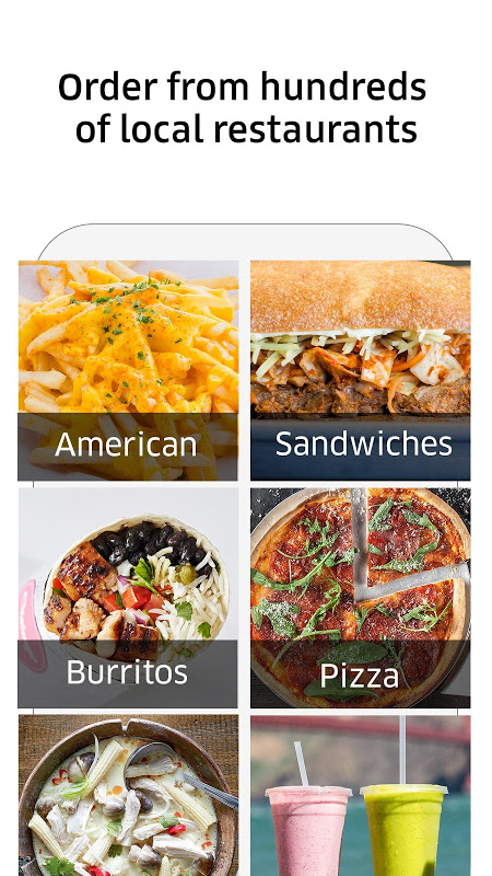 Android UberEATS: Faster Delivery Screen 2