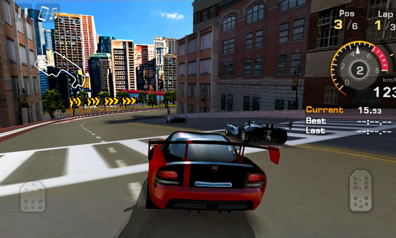 Android GT Racing: Motor Academy Free+ Screen 1