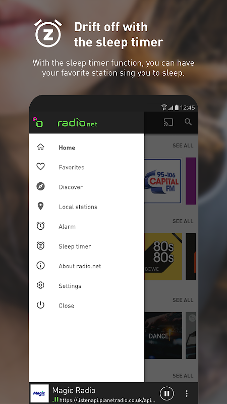 radio.net - Free Live FM radio 4.12.3 Screen 3