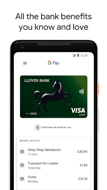 Android Android Pay Screen 7
