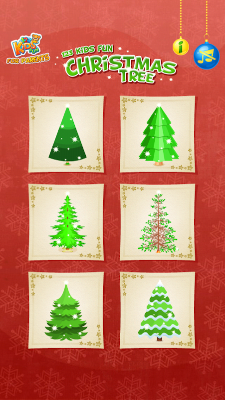123 Kids Fun CHRISTMAS TREE 1.38c Screen 5