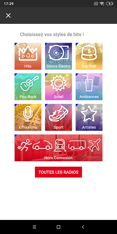 NRJ Radios 4.5.1 Screen 1