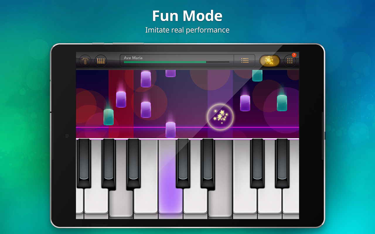 Android Piano Free - Keyboard with Magic Tiles Music Games Screen 9