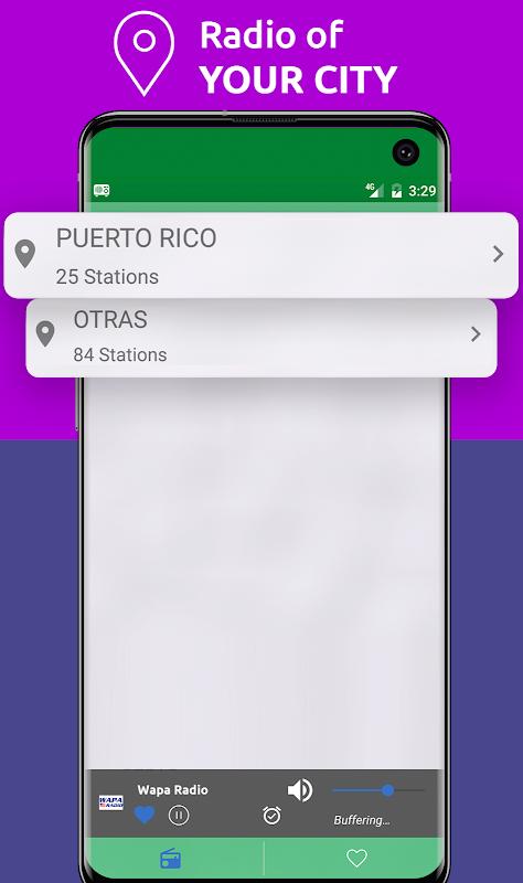 Android Free Puerto Rico Radio AM FM Screen 8
