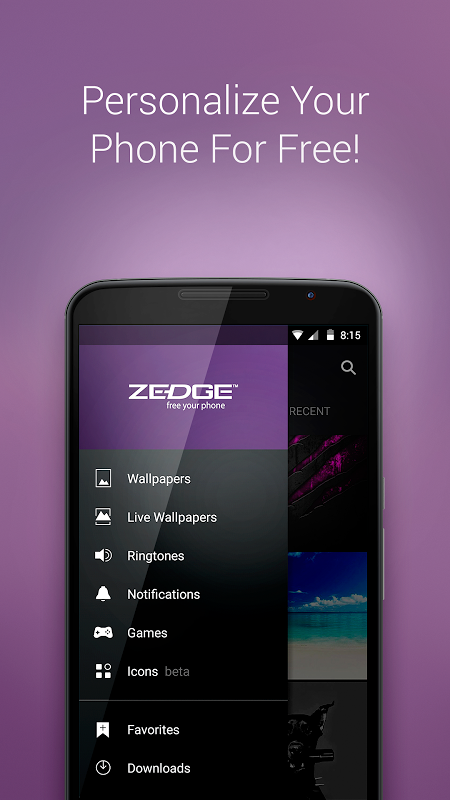 Zedge 5.19b16 Screen 3