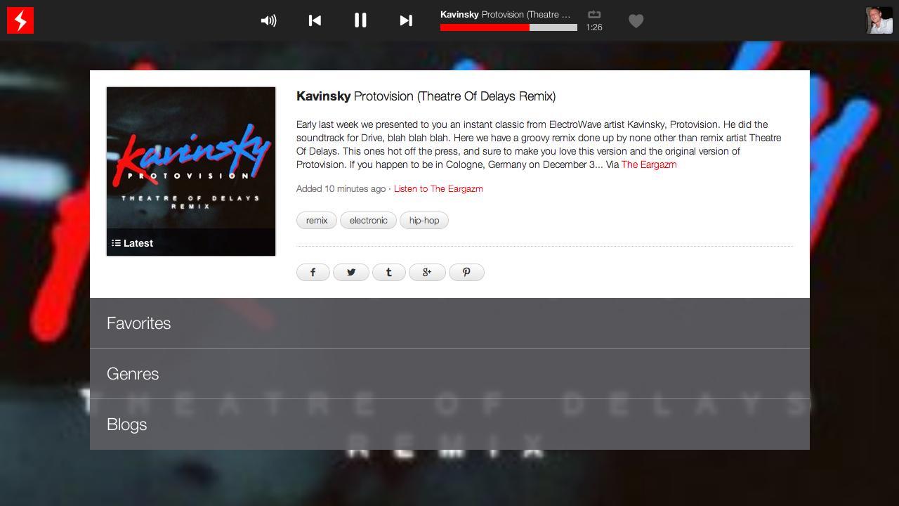 Android BEASTMODE.FM® internet radio Screen 4