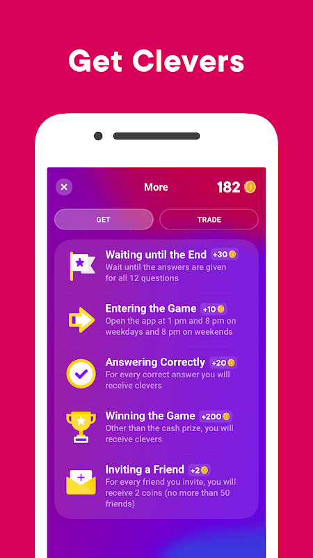 Clever — Game with Prizes 3.0.2 Screen 3