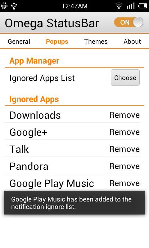 Omega StatusBar Pro APKs | Android APK