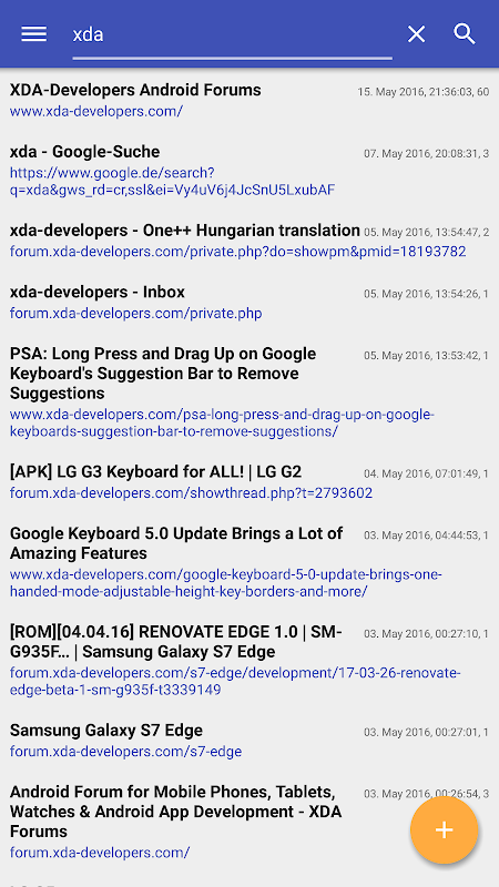 Android Slimperience Browser (AdBlock) Screen 6