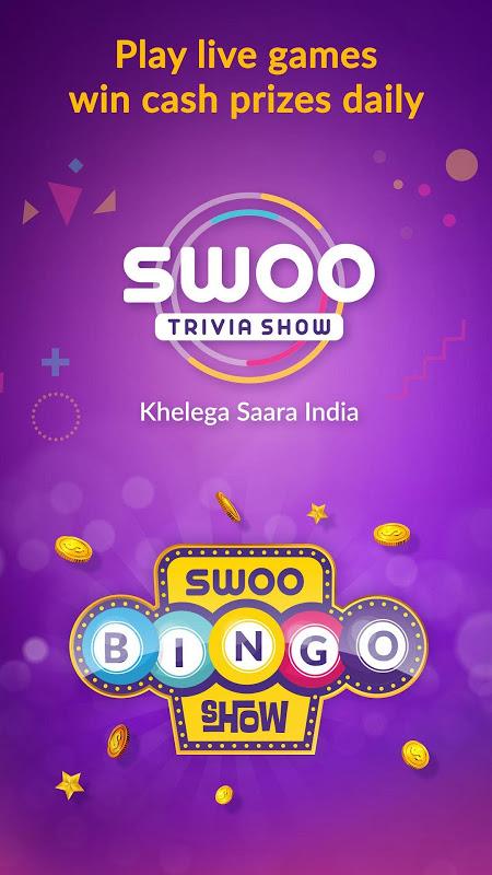 Android Swoo - Live Trivia and Bingo Screen 4