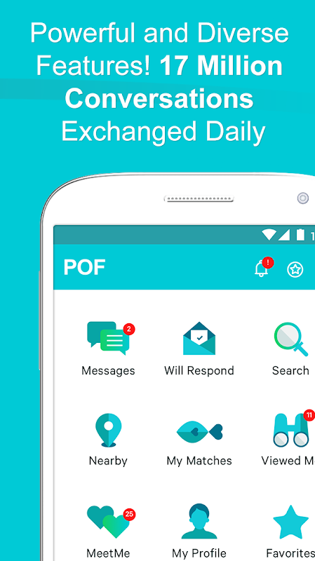 POF Free Dating App 3.67.0.1418284 Screen 1
