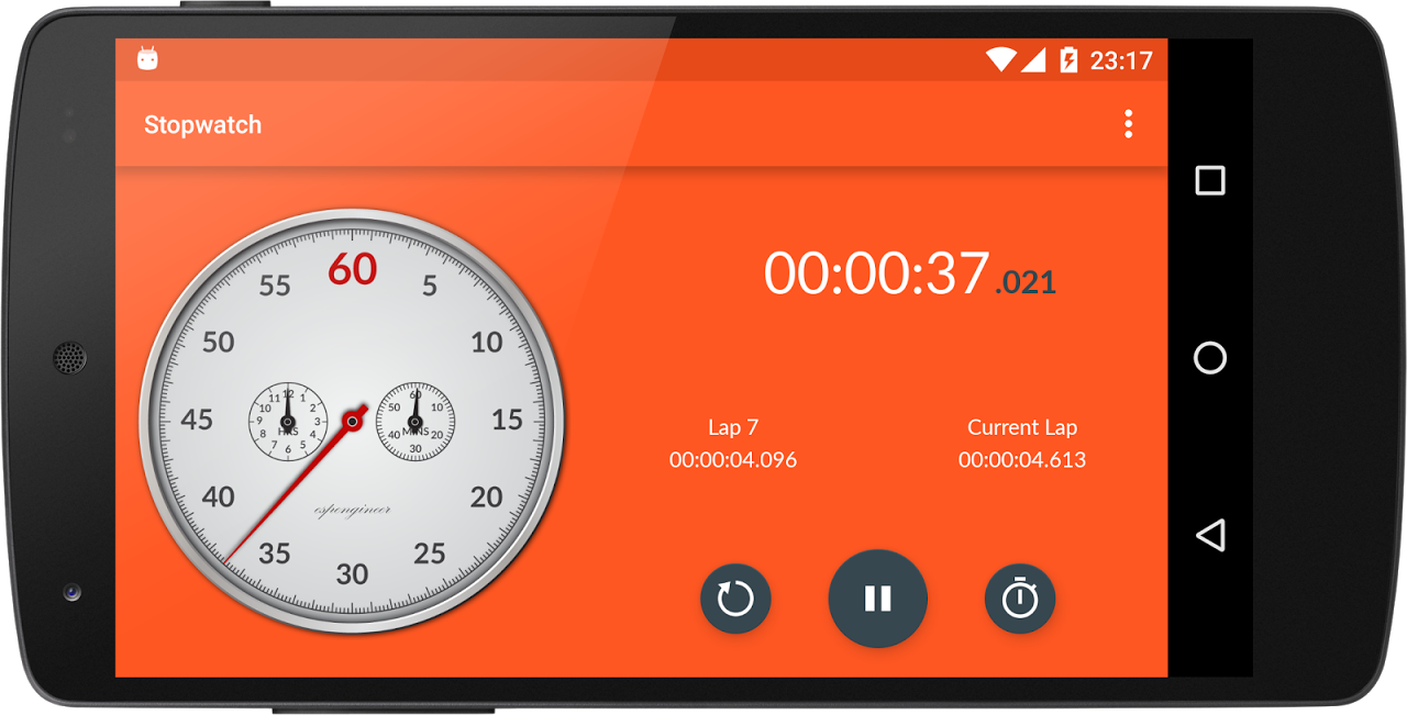 Chronometer 2.4 Screen 7