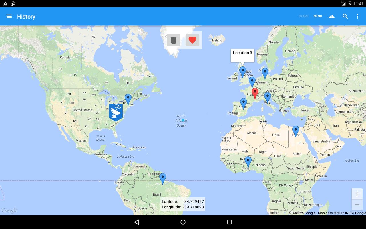 Fake GPS 4.8.4 Screen 1