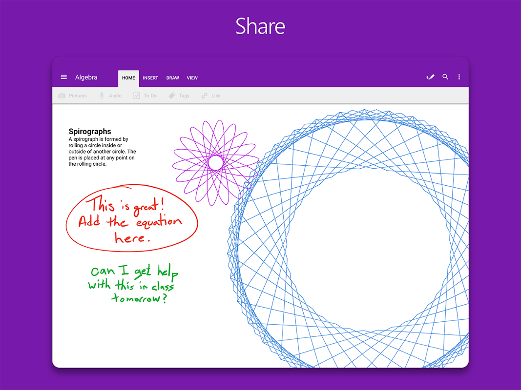 OneNote 16.0.8528.2052 Screen 13