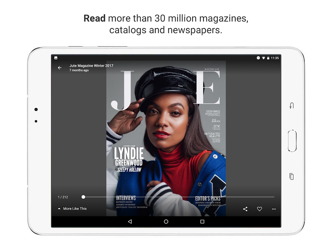 issuu - Read Magazines, Catalogs, Newspapers. 5.18.0 Screen 6