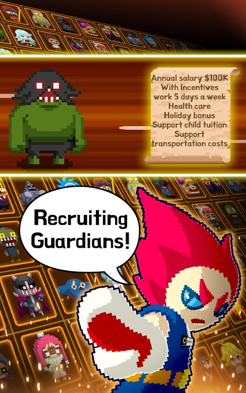 Android Videogame Guardians Screen 7