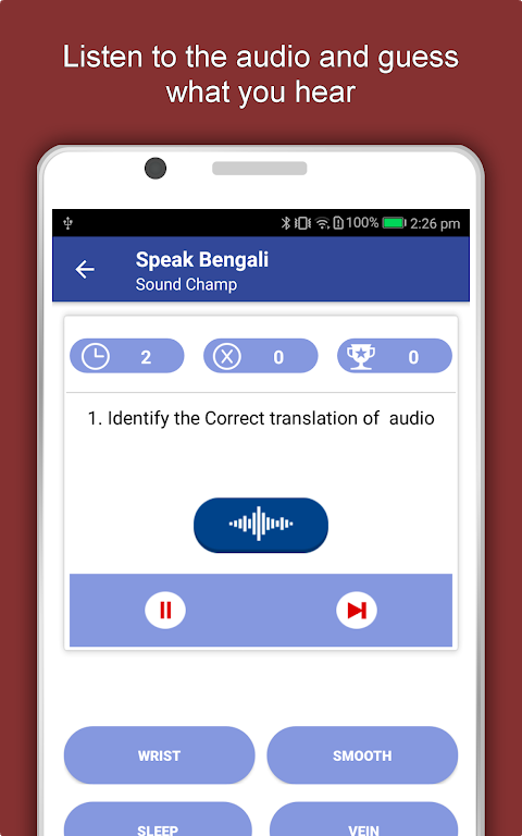 Speak Bengali : Learn Bengali Language Offline 1.0.6 Screen 11