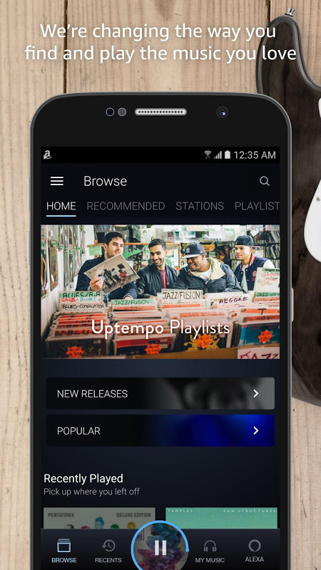 Amazon Music 7.8.4_307080410 Screen 4