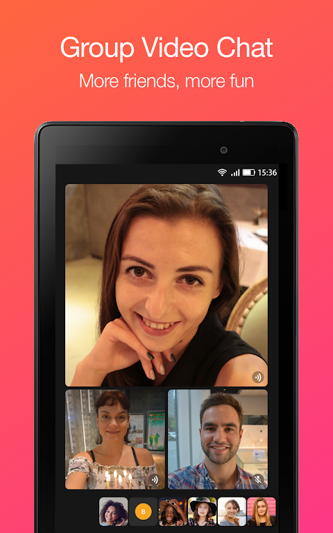 JusTalk - Free Video Calls and Fun Video Chat 7.2.54 Screen 9