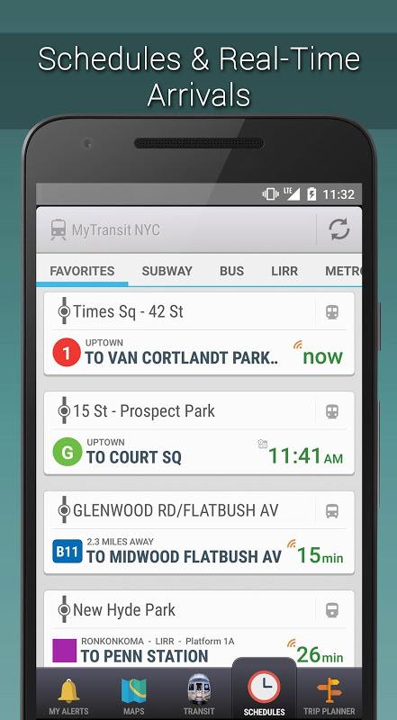 MyTransit NYC Subway, Bus, Rail (MTA) 3.8.3 Screen 3