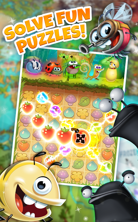 Android Best Fiends - Puzzle Adventure Screen 3