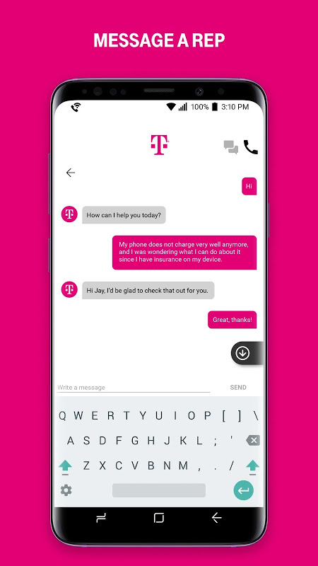 Android T-Mobile Screen 1