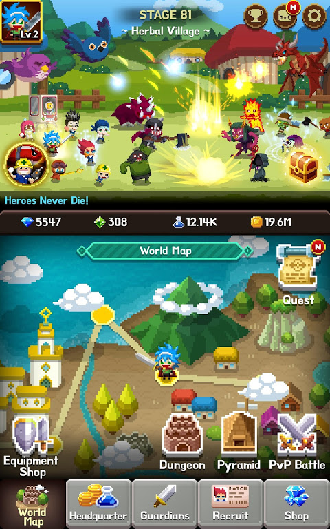 Android Videogame Guardians Screen 11