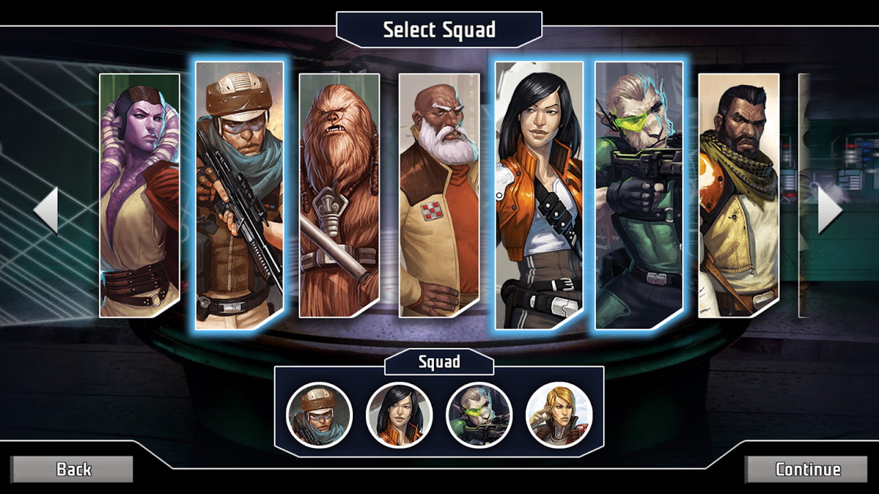 Star Wars: Imperial Assault app 1.0.1 Screen 2