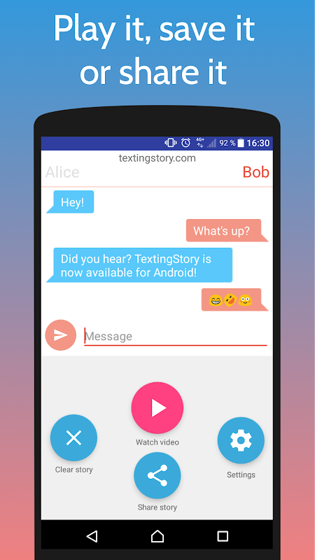 TextingStory - Chat Story Maker 1.5.3 Screen 2