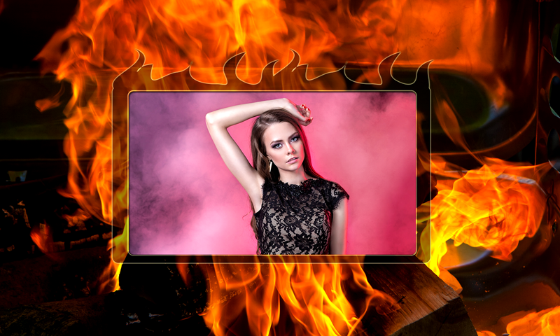 Android Fire Photo Selfie Screen 2