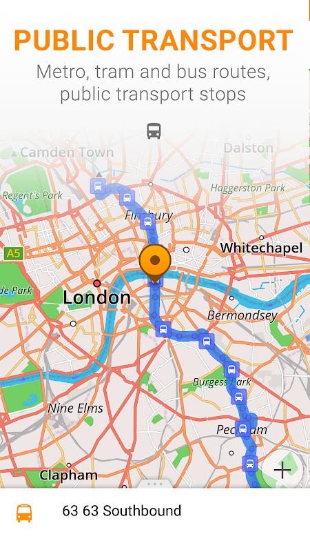 Android Maps & GPS Navigation OsmAnd+ Screen 7