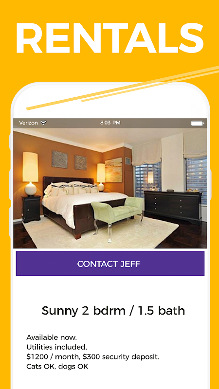 cPro Marketplace: Buy. Sell. Rent. Date. Jobs. 4.23 Screen 4