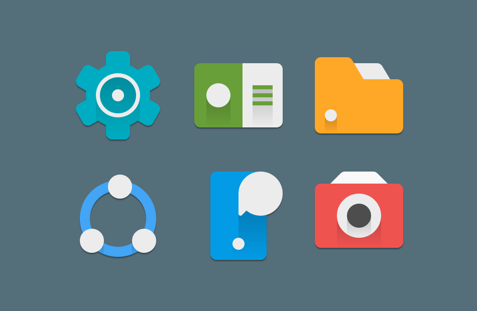 Android MINIMALE Icon Pack Screen 1