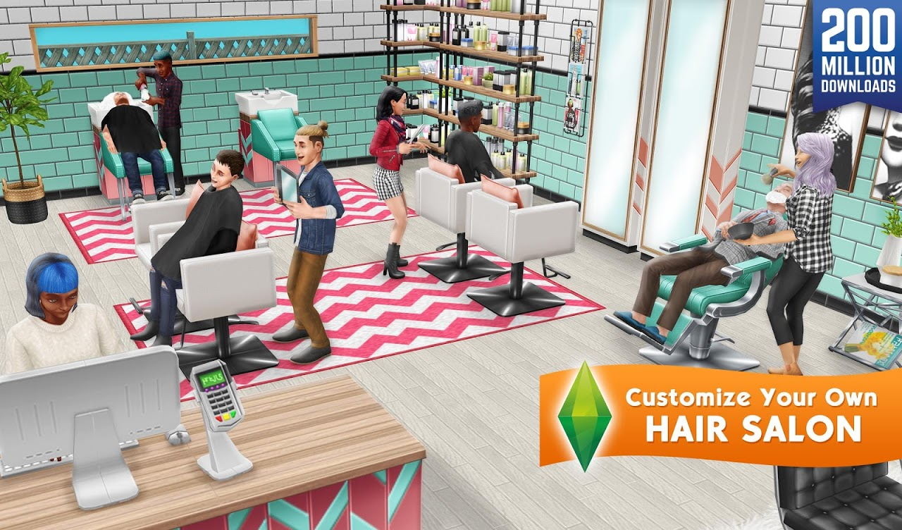 Android The Sims FreePlay Screen 10