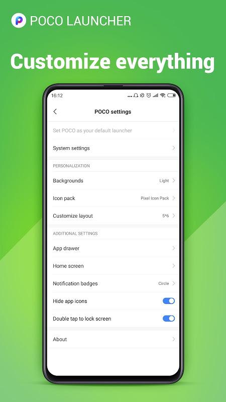 POCO Launcher 2.0- Customize,  Fresh & Clean 2.7.1.5 Screen 7
