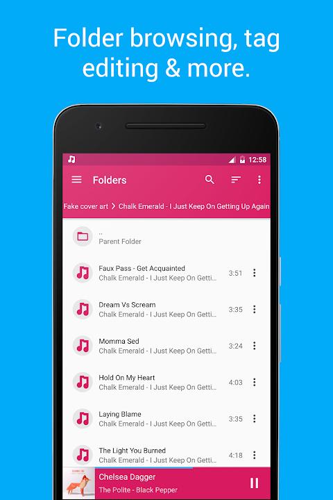 Shuttle+ Music Player 2.0.7-beta1 Screen 3