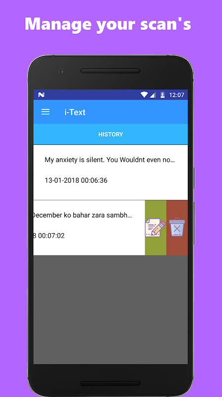 Android Image to text converter / text scanner Screen 5