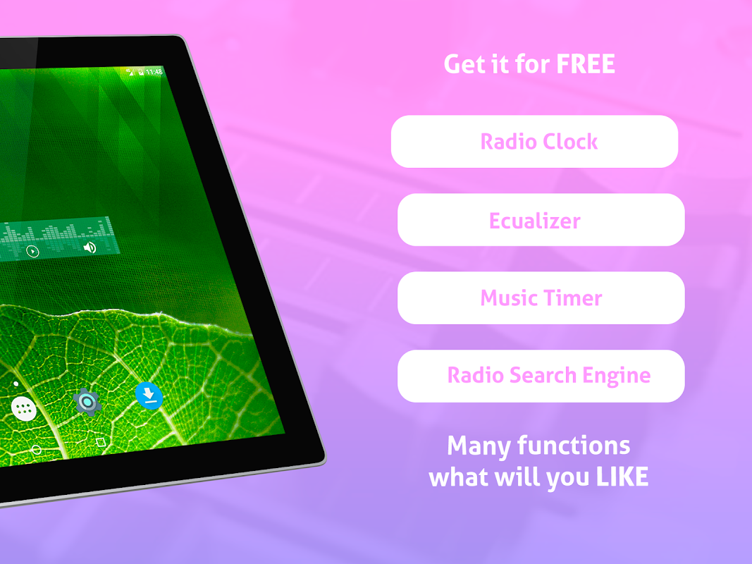 Android Free Puerto Rico Radio AM FM Screen 10