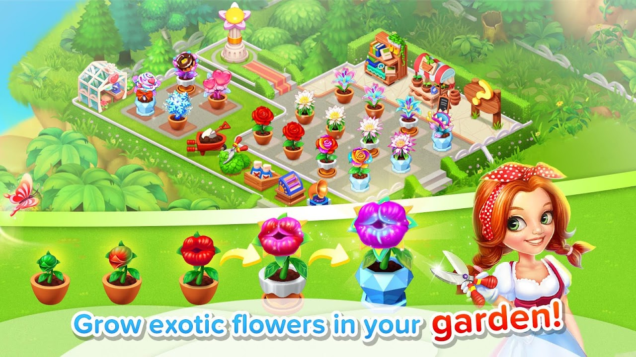Android Family Farm Seaside Screen 1