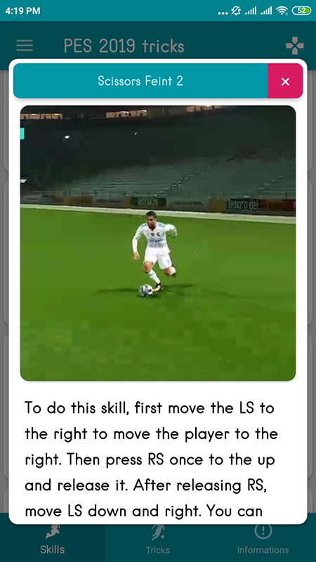 Pes Player Skills