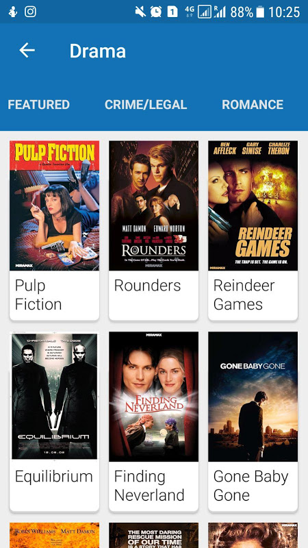 Android Telly - Watch TV & Movies Screen 8