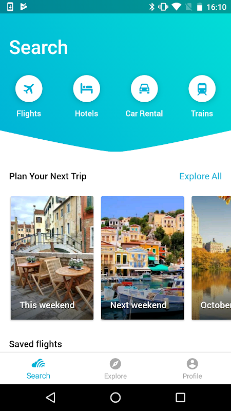 Skyscanner- Flights, Hotels, Trains and Car Hire 5.55 Screen 4
