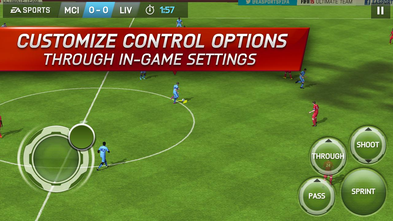 Android FIFA 15: UT Screen 3