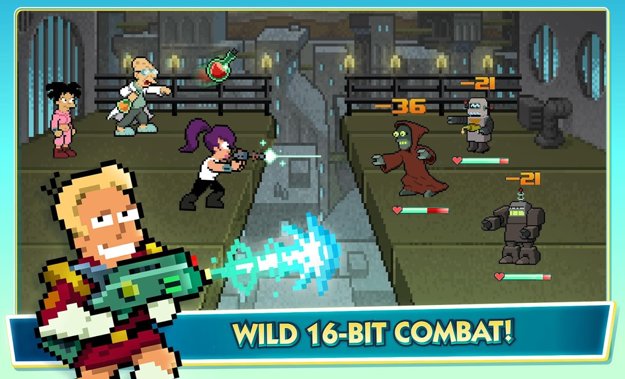 Futurama: Worlds of Tomorrow 1.4.9 Screen 10