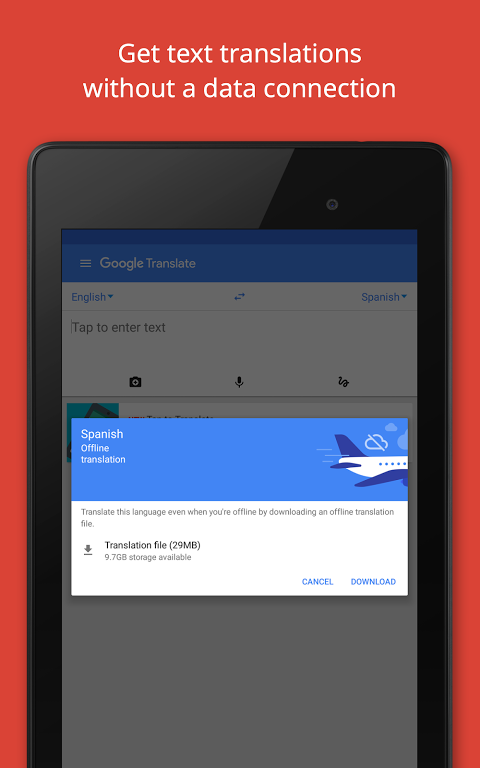 Android Google Translate Screen 12