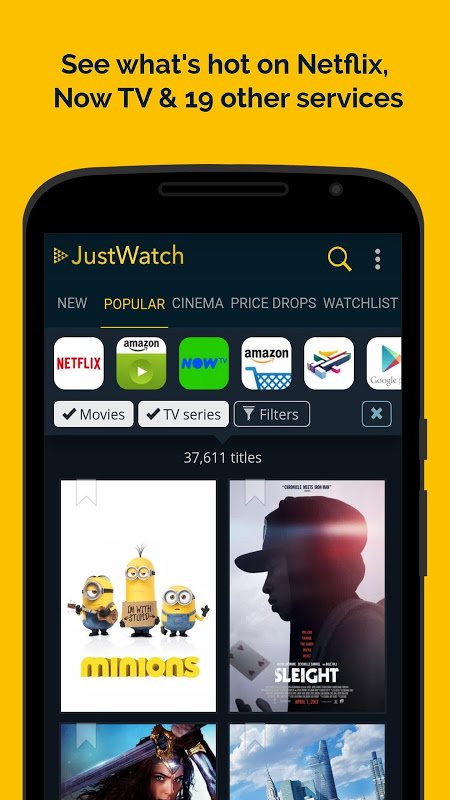 JustWatch - Search Engine for Streaming and Cinema 0.24.58 Screen 3