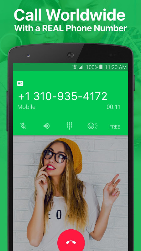 textPlus: Free Text & Calls 7.4.1 Screen 1