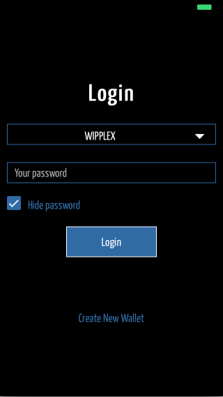 Android Wipplex - Ripple Wallet Screen 2